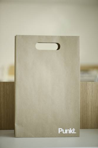Punkt's simple packaging