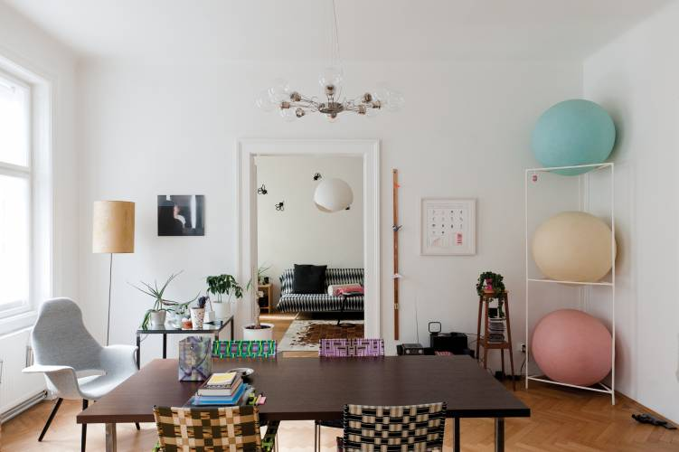 Inside the home of local resident Heiri Häfliger