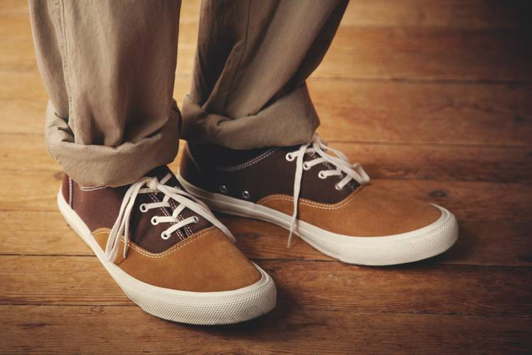 The Footwear - Trousers by C.P. Company, shoes by Comme des Garçons Homme
