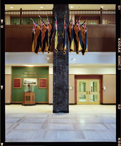 The lobby of the Confederation Building