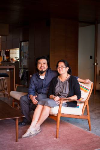 Architects Peter Tan and Christine Ho Ping Kong
