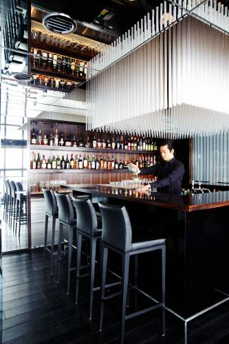 Bar at the Soho, designed by Masamichi Katayama of Wonderwall