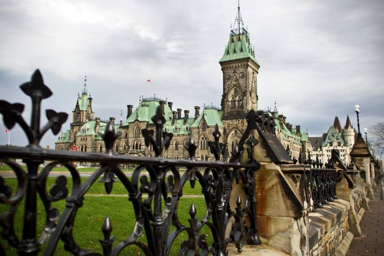 The parliament buildings, Ottawa
