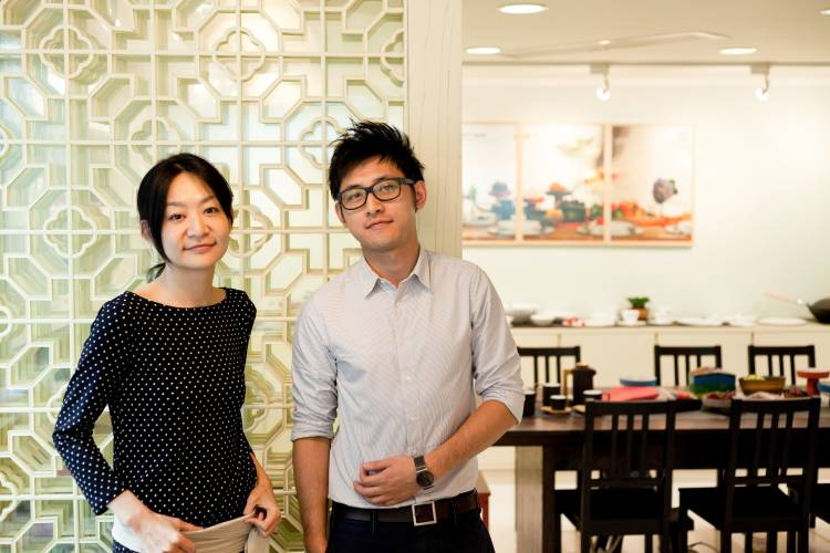 Jia Inc brand director Claire Chen and brand executive Brian Khoo