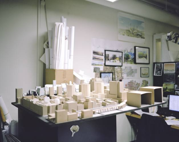 Models at the urban design division