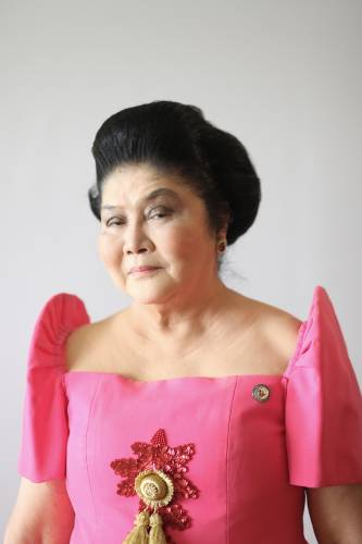 Imelda Marcos (and shoulder pads)