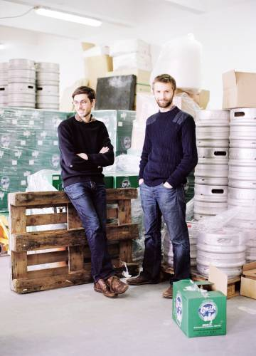 Gallia owners Jacques Ferté (left) and Guillaume Roy (right)