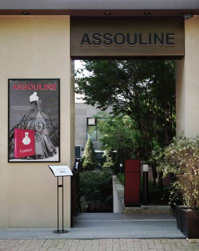 The entrance to Assouline in Seoul
