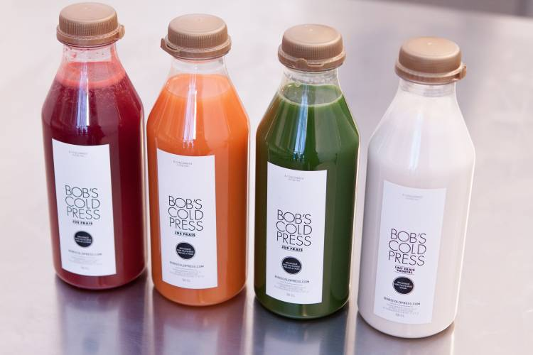 Bob's Cold Press juice shop