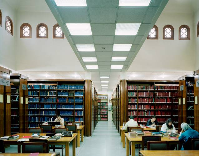 The Bibliothèque Al Saoud in Anfa