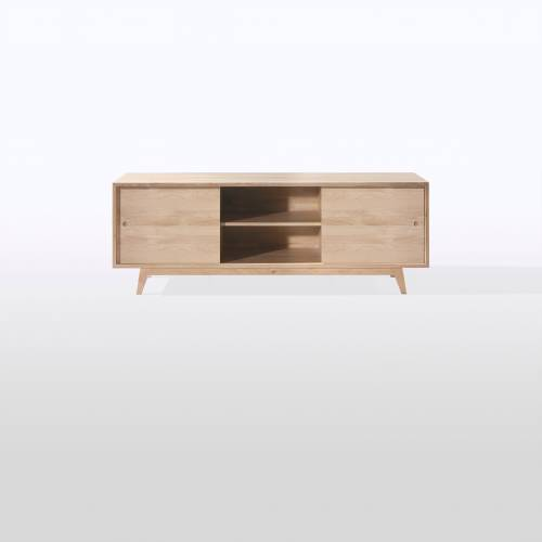 French oak furniture collection by start-up design brand Wewood