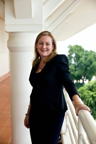 Deputy chief minister of the Northern Territory, Delia Lawrie