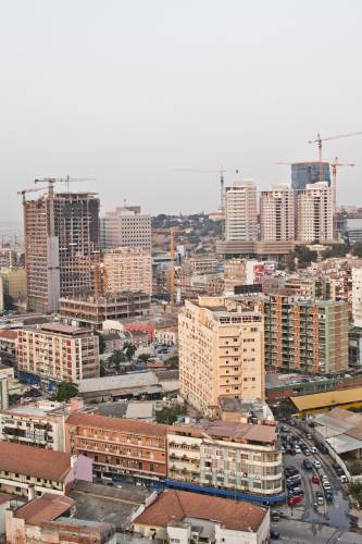Luanda's ever-changing skyline