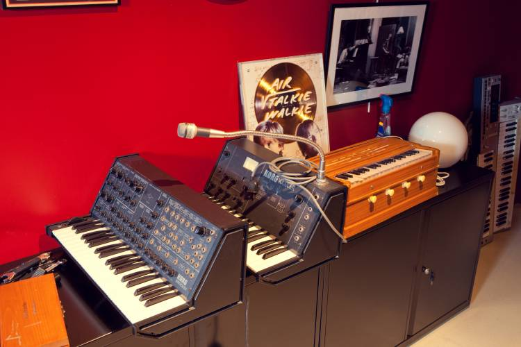 Vintage synths, gold discs – Air's Atlas studios are a treasure trove