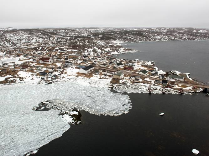 The town of Fogo