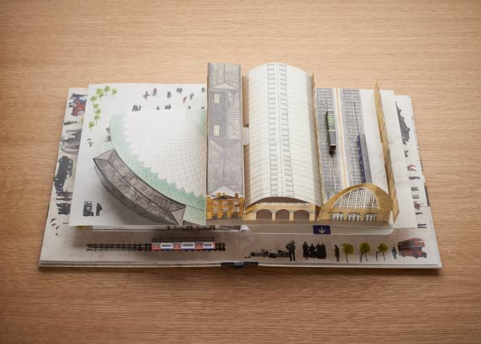 King's Cross pop-up book