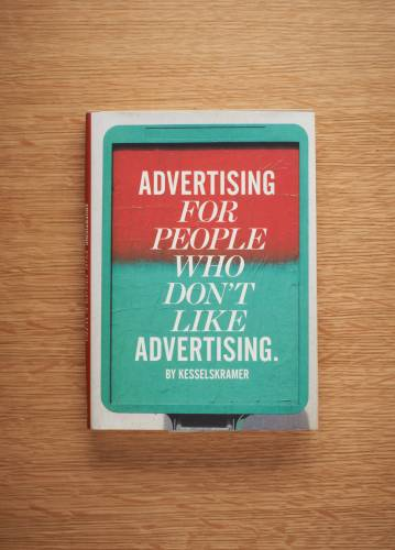 Book by Amsterdam-based creative agency KesselsKramer