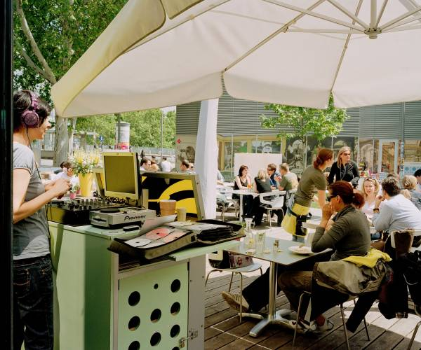 Kunsthallen Cafe at Karlsplatz