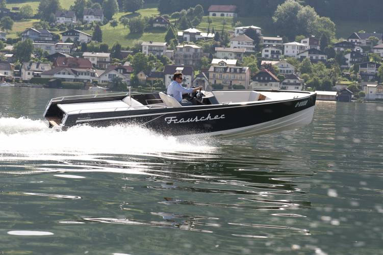 No. 03: Frauscher motor boat