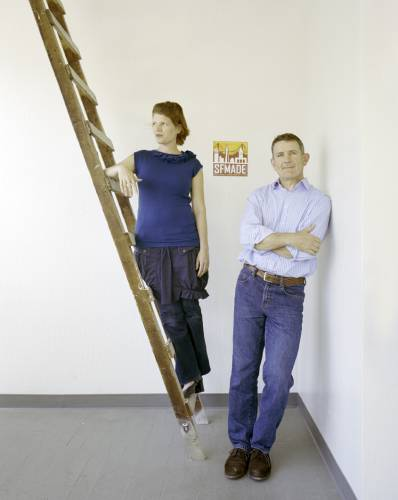 Kate Sofis and Mark Dwight, founders of SFMade