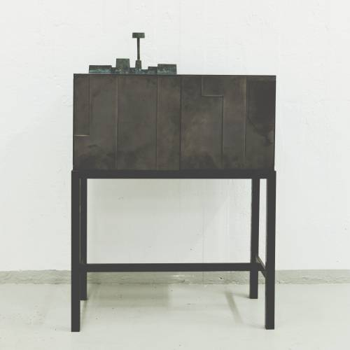 Bronze cabinet by Folkform