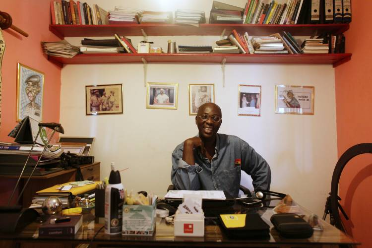 Harruna Attah, editor of 'Accra Mail'
