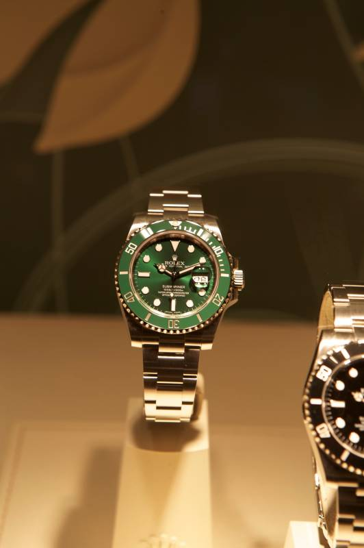 Rolex Submariner Green Gold