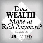 Cover art for Does wealth make us rich anymore?