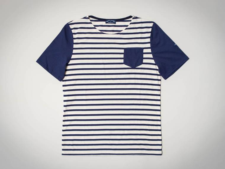 Saint james striped short sleeve t shirt clothing shop for St james striped shirt