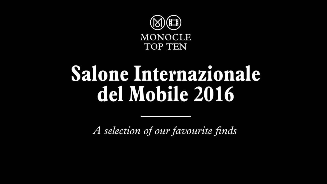 Salone internazionale del mobile 2016 film monocle for Salone del mobile 2016 date