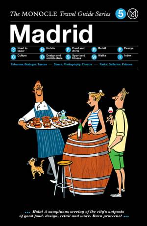 Book jacket image for the Madrid travel guide