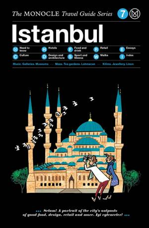 Book jacket image for the Istanbul travel guide