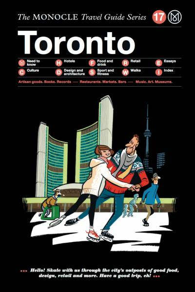 Book jacket image for the Toronto travel guide
