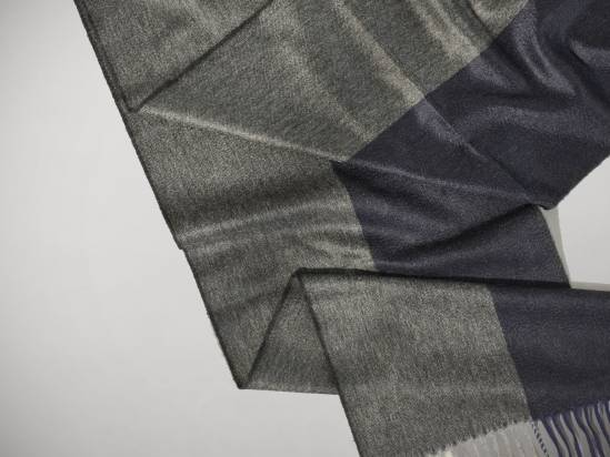 Begg & Co x Monocle Hemisphere cashmere scarf