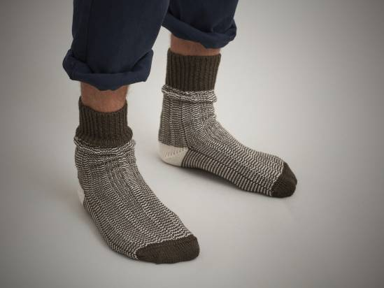 ESK x Monocle travel socks